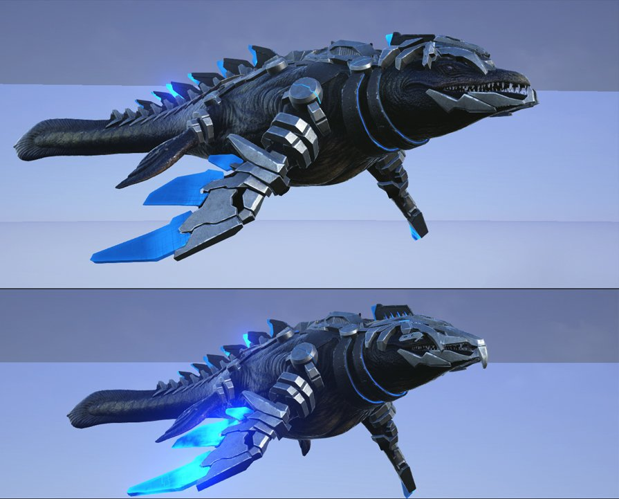 ARK Patch v256 - Mosasaurus TEK Rüstung