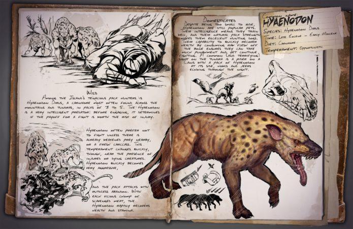 ARK Patch v258.0 - Hyaenodon Dossier