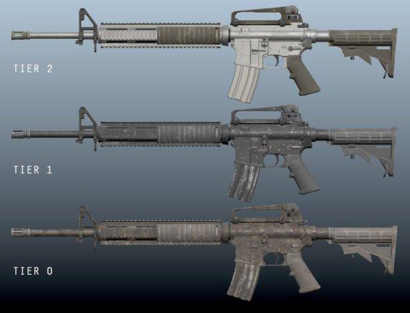 H1Z1 Waffen Tier System M4