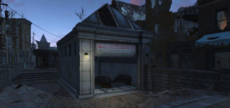 Fallout 4 College Square