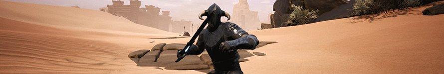Conan Exiles Waffen-Sprint-Mechanik und Charakter-Handling Testserver