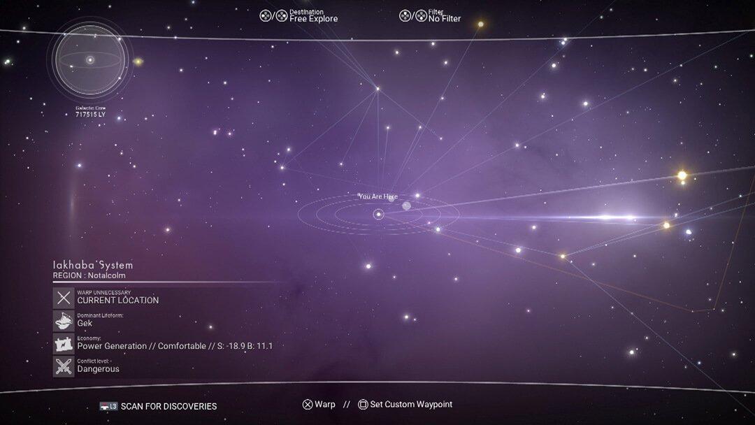 Sky Karte