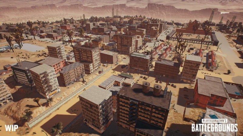 PlayerUnknowns Battlegrounds Wüstenkarte Screenshot Gamescom