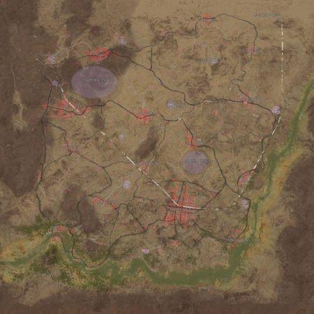 PlayerUnknowns Battlegrounds Wüsten-Map Leak