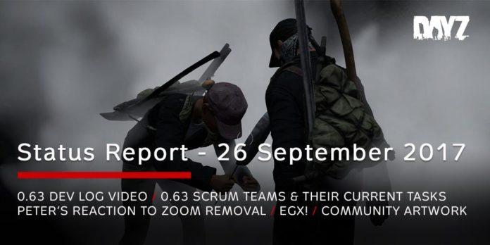 DayZ - Statusreport vom 26. September 2017
