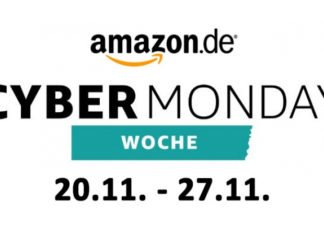 Amazon Cyber Monday-Woche 2017
