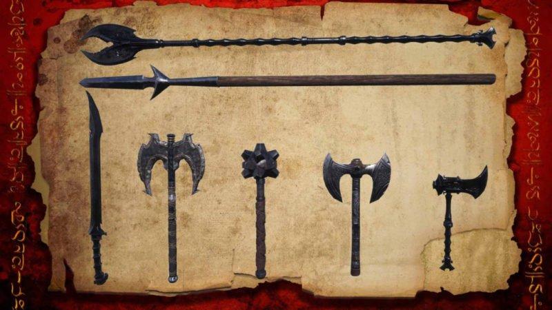 Conan Exiles Update 32 neue Waffen