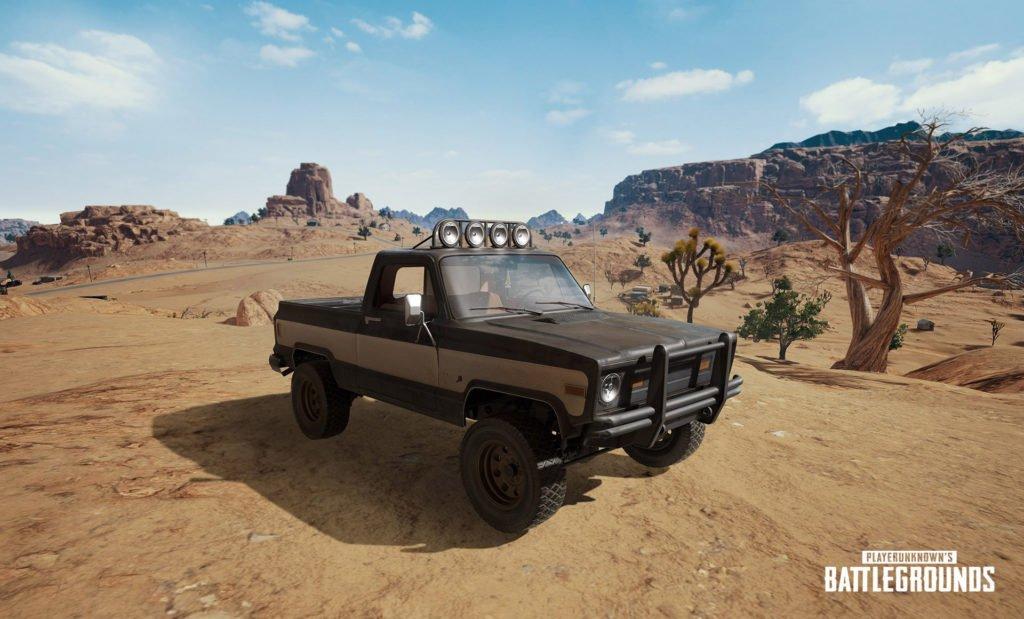 PUBG Wüstenkarte Fahrzeug Pickup