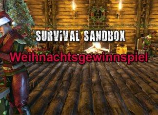 Survival-Sandbox.de Weihnachtsgewinnspiel