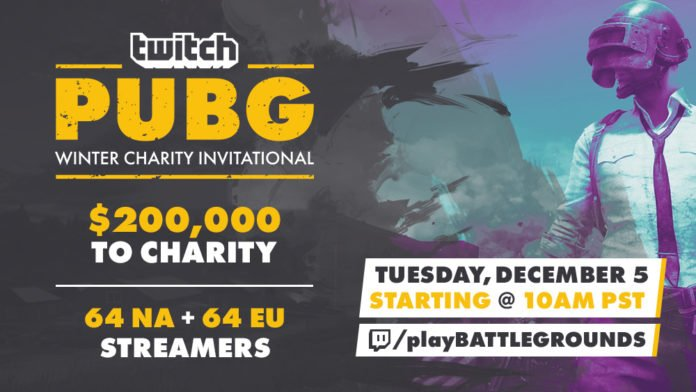 Twitch PUBG Winter Charity-Invitational