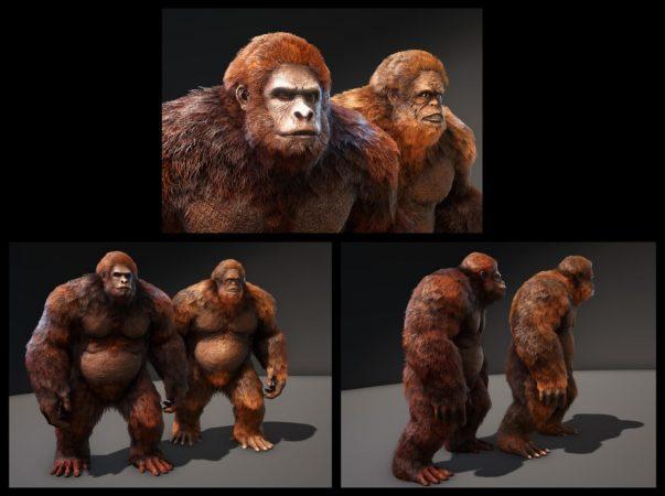 ARK Dino TLC - Gigantopithecus
