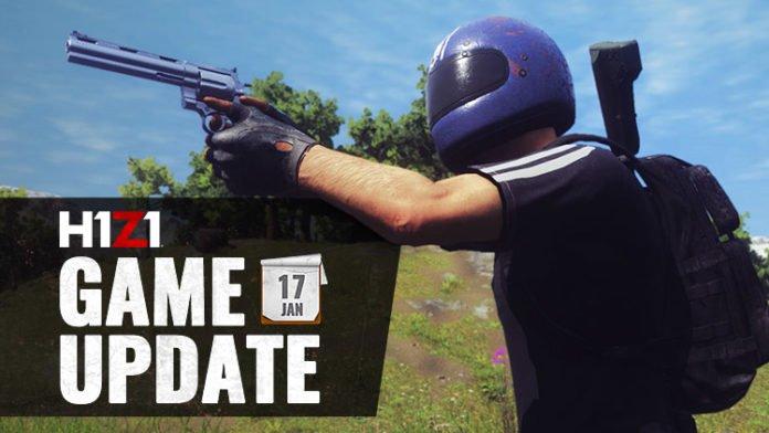 H1Z1 Game Update vom 17.01.2018