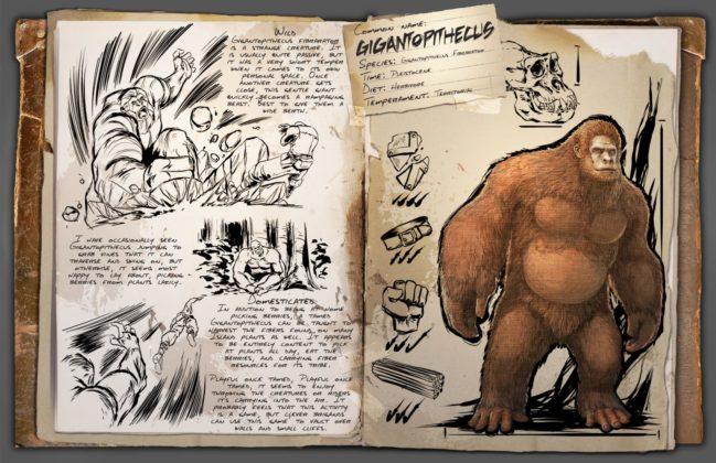 ARK - Gigantopithecus DLC