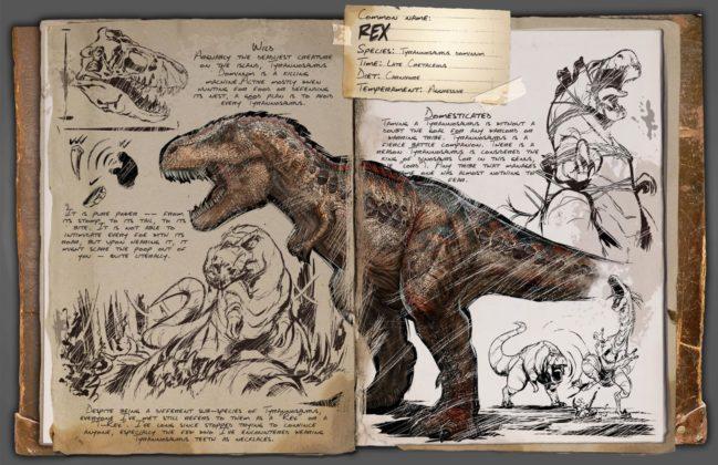 ARK T-Rex Dossier