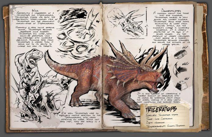 ARK TLC Dossier Triceratops