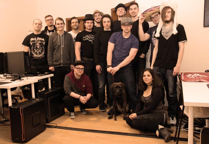 Das Team von TP-Studios aus Dresden.