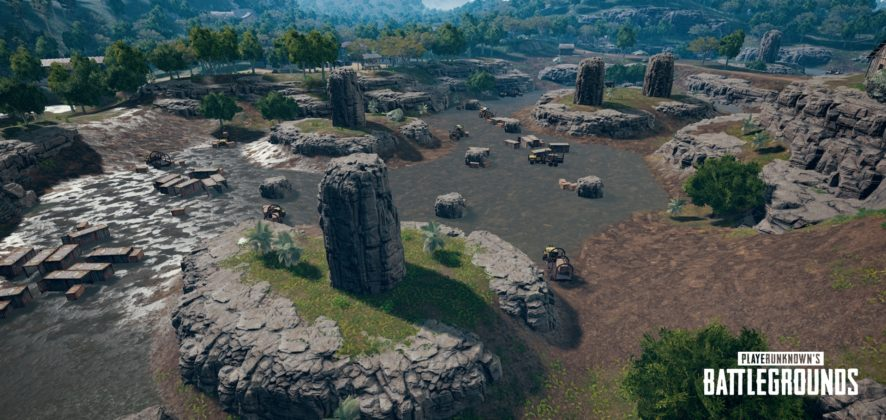 PUBG Codename Savage Test Abandon Quarry