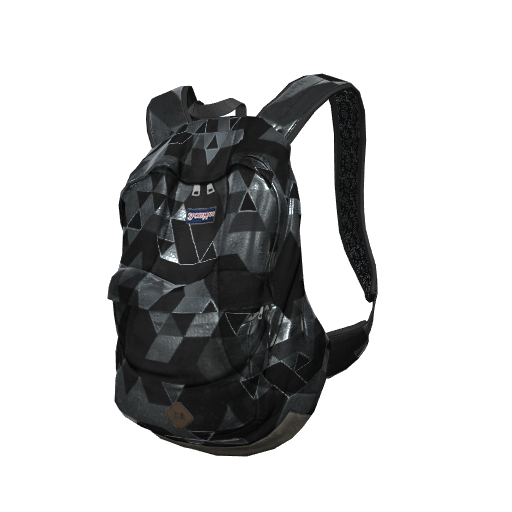 H1Z1 Heavy Metal Backpack Skin