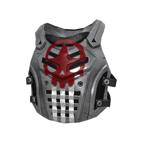 H1Z1 Heavy Metal Makeshift Armor Skin