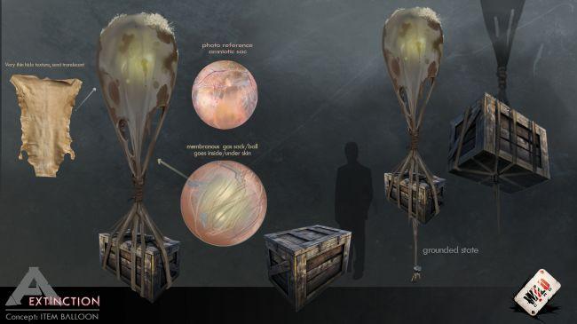 ARK: Extinction Item Ballon