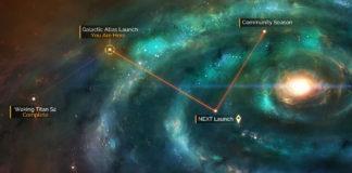 No Man's Sky galaktischer Atlas