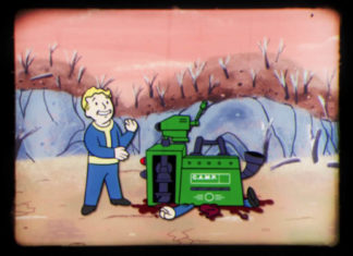 Fallout 76 PvP CAMP Gamescom