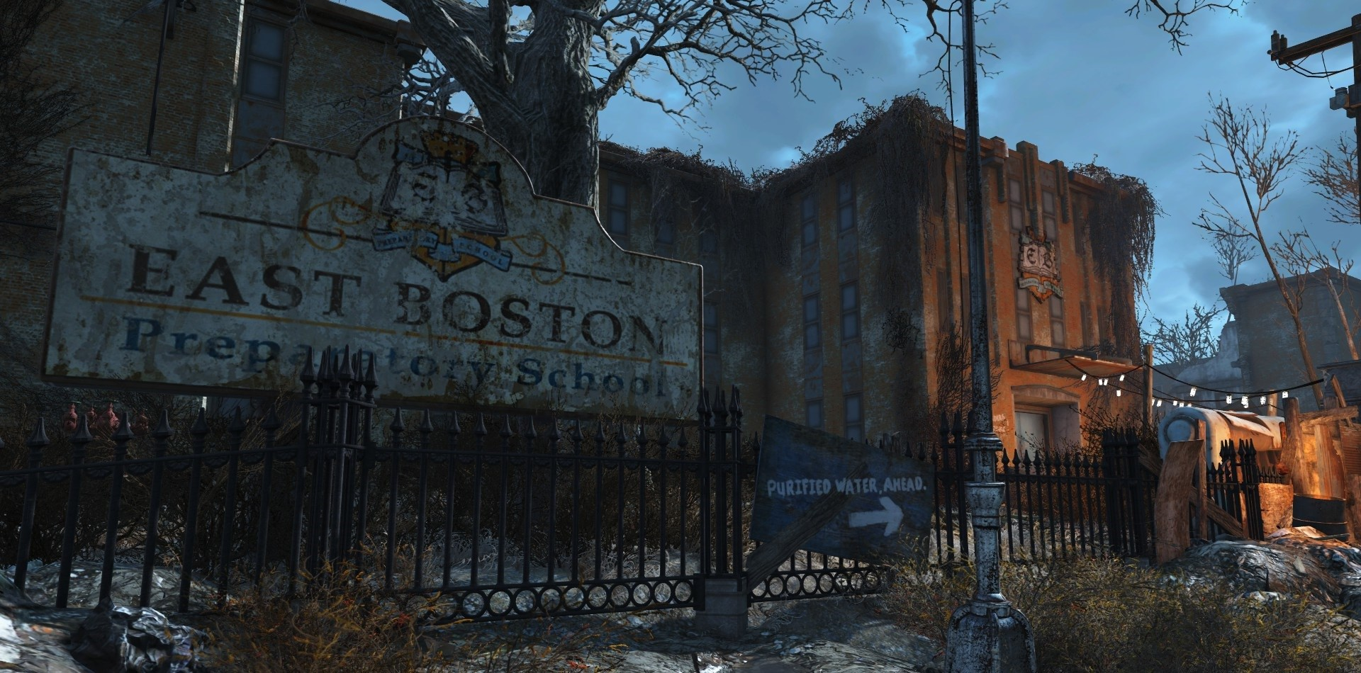 Fallout 4- The Legend of the East Boston Preparatory School