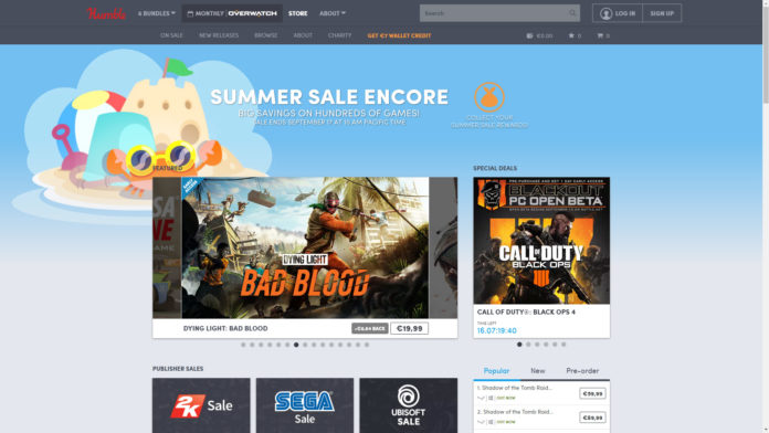 Humble Store Summer Sale Encore