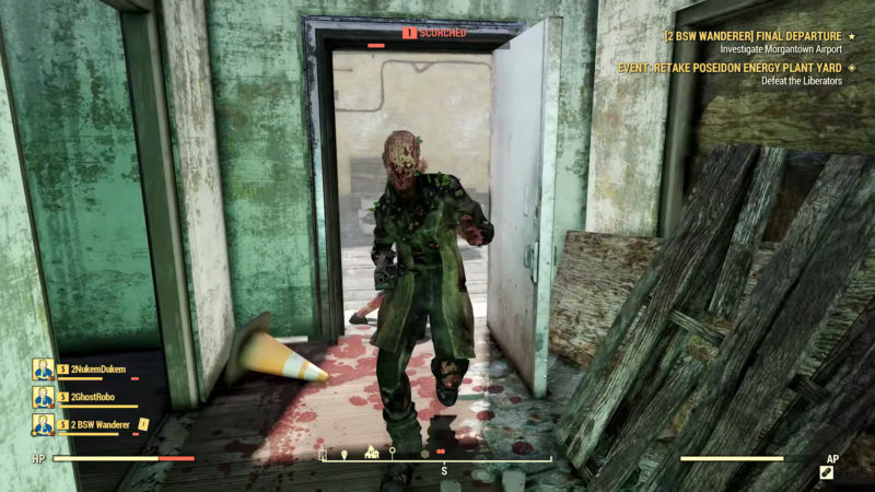 Fallout 76 - Die Verbrannten