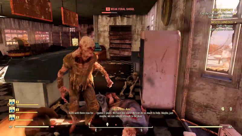 Fallout 76 Ghul