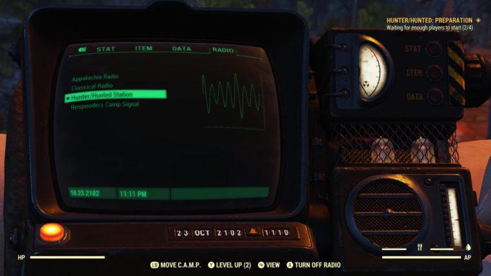 Fallout 76 Hunter/Hunted Battle Royale