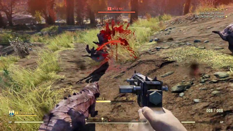 Fallout 76 Maulwurfsratten