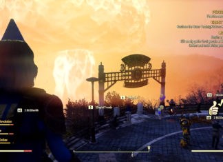 Fallout 76 Nuke Gameplay