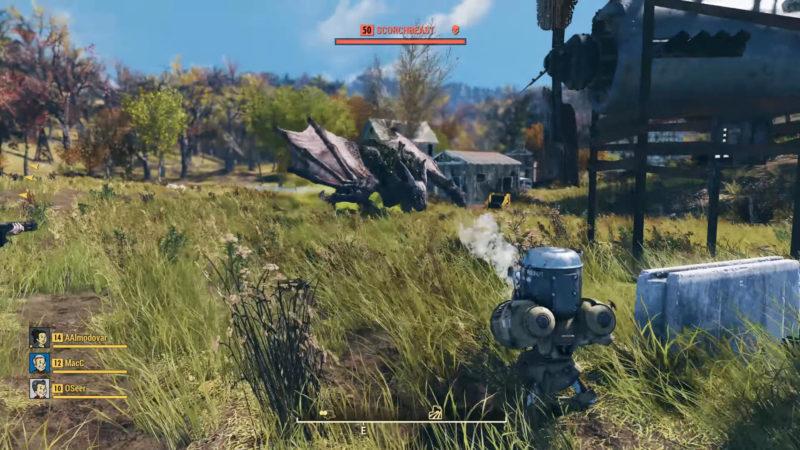 Fallout 76 - Scorchbeast