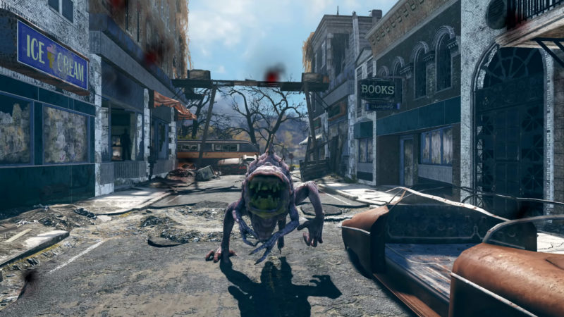 Fallout 76 - Snallygaster
