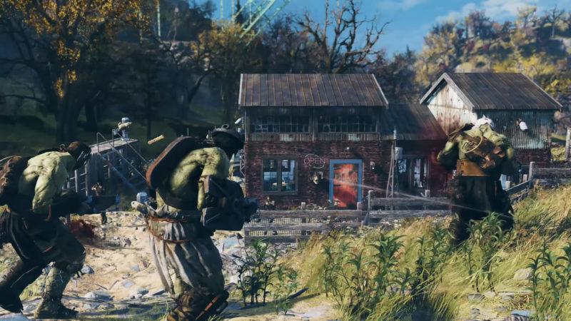 Fallout 76 - Supermutanten