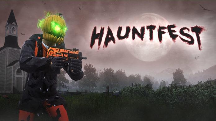 H1Z1 Hauntfest Halloween-Event