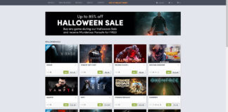 Humble Store Halloween Sale