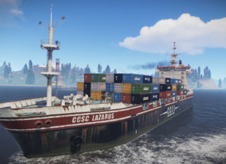 Rust Cargo Ship Update