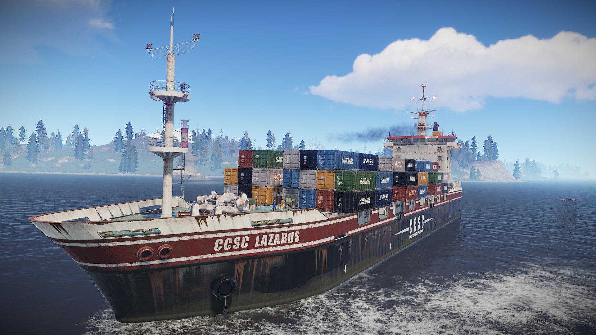 Playerunknown S Battlegrounds Maps Loot Maps Pictures: Cargo Ship Update Bringt Riesiges Loot-Frachtschiff