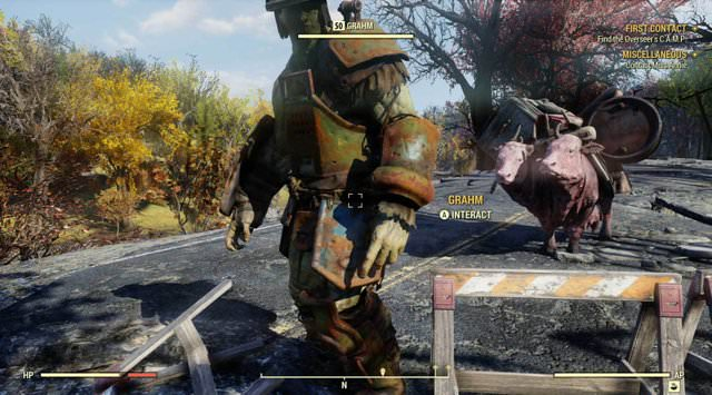 Fallout 76 Supermutanten-Händler Graham