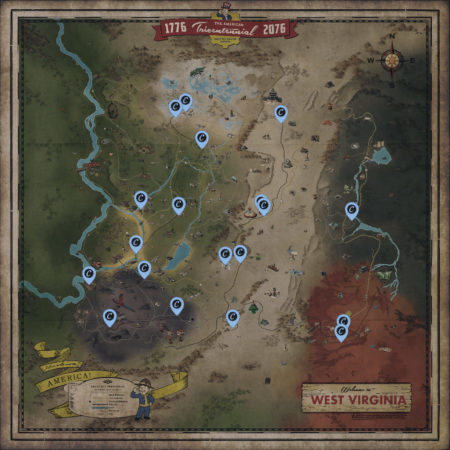 Fallout 76 Händler Positionen