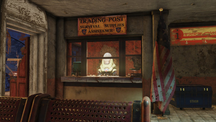 Fallout 76 Händler Positionen und Gruppen