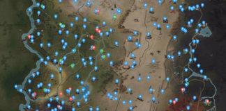 Fallout 76 interaktive Appalachia-Karte