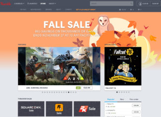 Humble Store Fall Sale