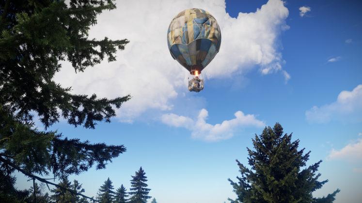 Rust - Hot Air Balloon Update