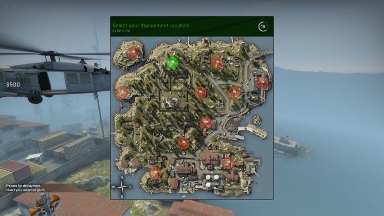 CS:GO Danger Zone Map Spawn