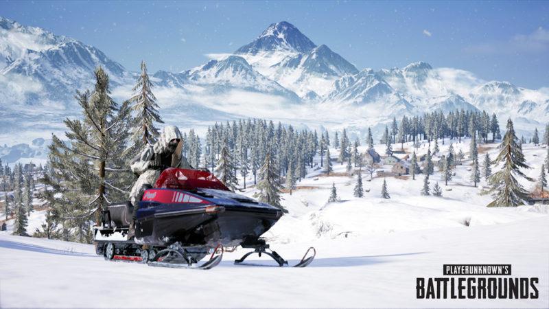 PUBG Update #24 und neue Schneekarte Vikendi