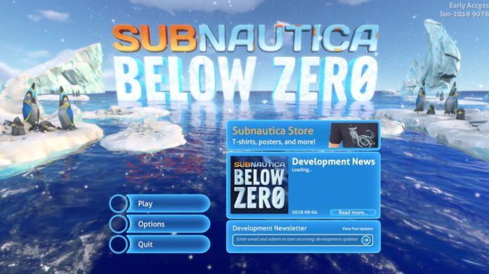 Subnautica: Below Zero Status Lockdown