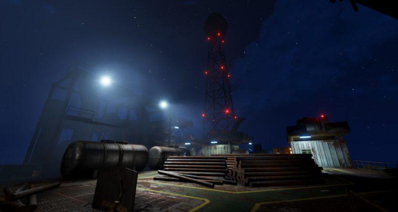 Rust - Oilrig Monument Screenshot